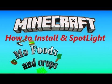 Mo' FOOD 1.3.2 - How To Install & SpotLight
