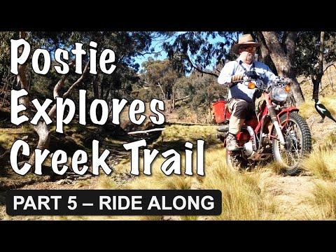 Postie explores the Creek Trail | Fishing | Echidna