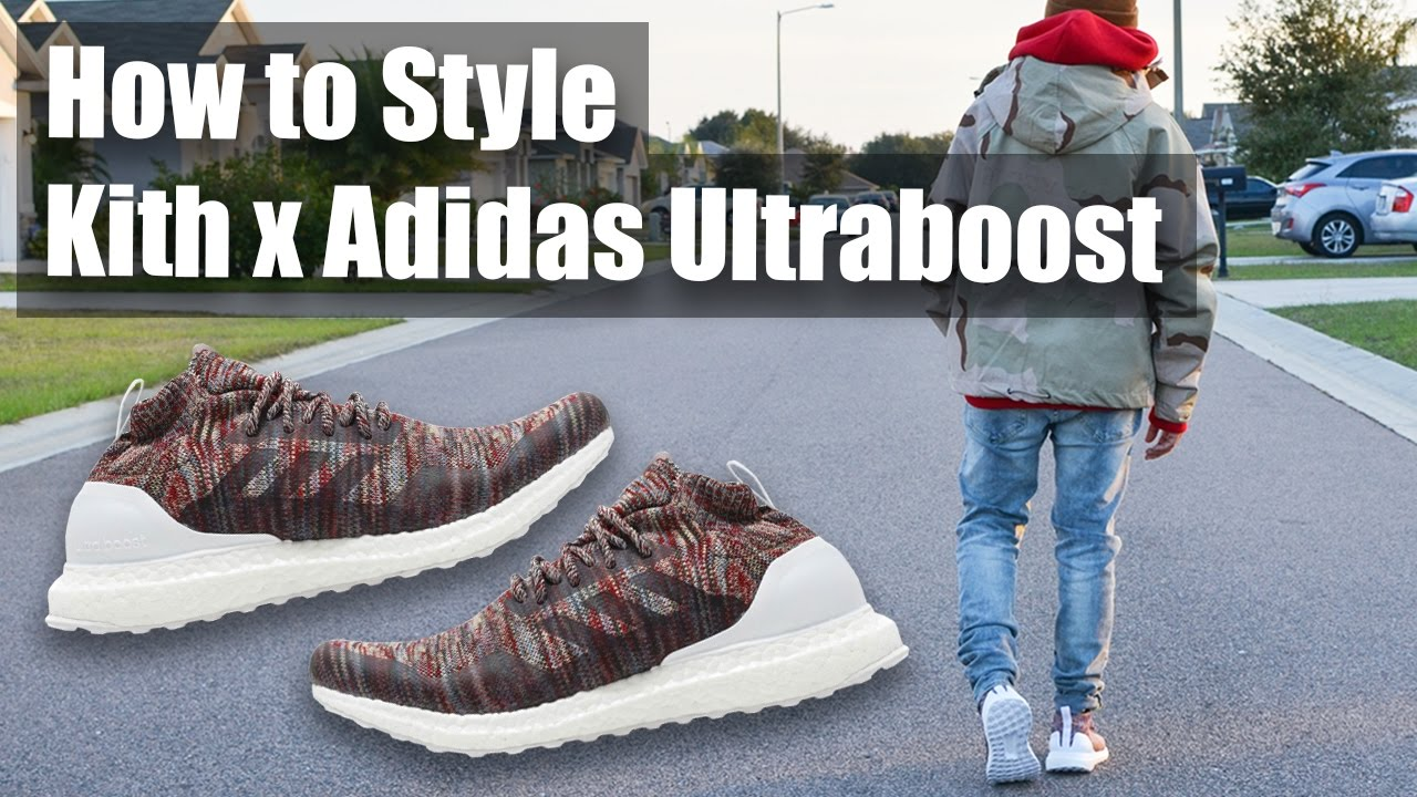 4be00f082 How to Style Kith x Adidas Ultraboost Mid - YouTube