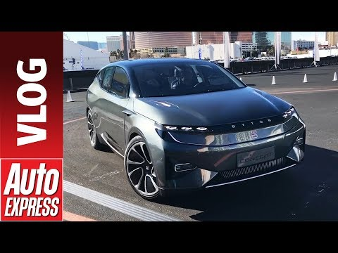 Byton Concept electric SUV ride review - exclusive ride and tech demo at CES