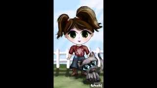 Chibi Cowgirl drawing tutorial by Leah Taylor