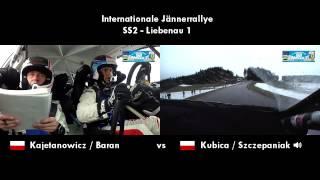 ERC Jännerrallye / Janner Rally 2014 - Kajetanowicz vs Kubica SS2