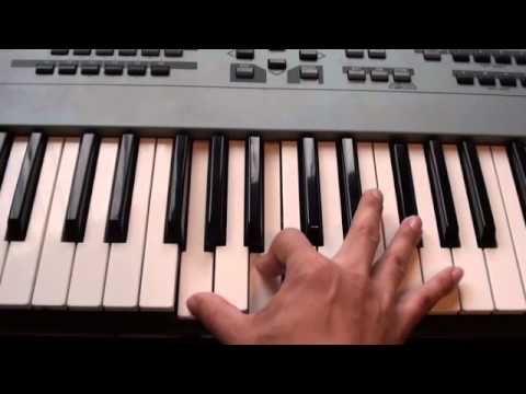How to play Swimming Pools on piano - Kendrick Lamar