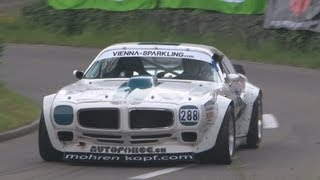 Pontiac TRANS AM 8.0, 700hp at Hillclimb Bergrennen Reitnau 2013. Great V8 Sound!