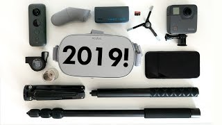 WHAT'S IN MY 360 CAMERA BAG IN 2019?!