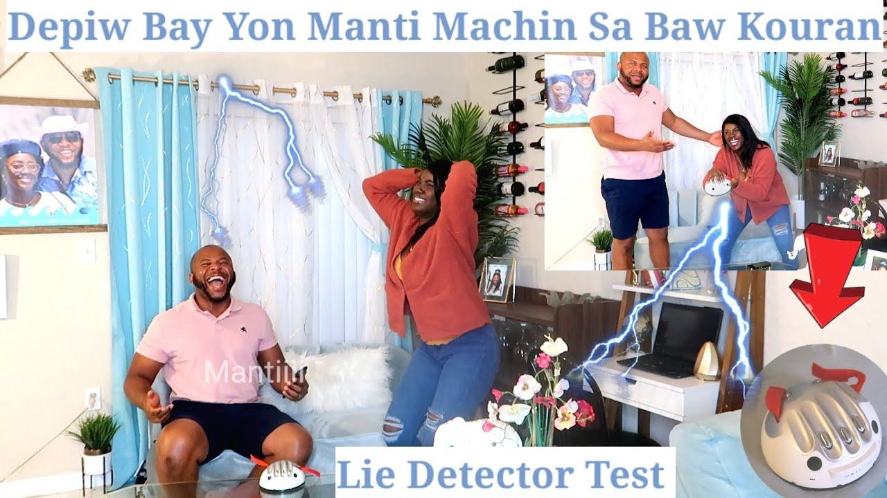 Machin Sa Depiw Bay Manti li Aviliw,Eskew Tronpem Deja?Machin Sa Bay Tout Verite|Lie Detector Test🙄