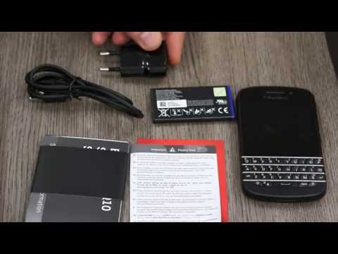 BlackBerry Q10 Unboxing video and hands on review - iGyaan