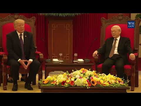President Trump Participates in an Expanded Bilateral Meeting