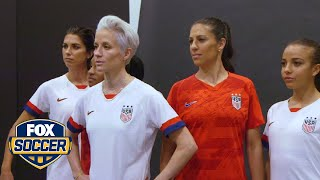 USWNT unveil new kits for 2019 Women's World Cup™ | FOX SOCCER