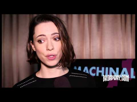 "Rebecca Hall & the Cast of Broadway's ""Machinal"" Tell the Crushing True Story Behind the Tense Drama"