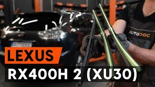 Kako zamenjati Nosilec amortizerja LEXUS RX (MHU3_, GSU3_, MCU3_) - video vodič
