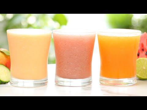Summer Drinks 3 Delicious Ways   Frosty, Fresh & Fruity
