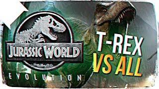 ТИРЕКС ПРОТИВ ВСЕХ ХИЩНИКОВ В Jurassic World Evolution #4 🐲 Jurassic World Evolution ПРОХОЖДЕНИЕ