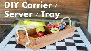 Diy Outdoor Picnic Tray & Table Centerpiece