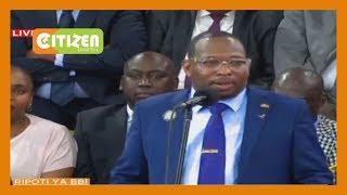 Sonko laments exclusion of Nairobi leadership in BBI Report launch