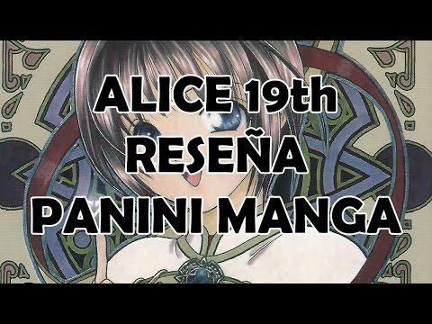 Alice 19th - Reseña Panini Manga México