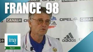 La sélection d'aimé jacquet pour l'équipe de france 98 - archive vidéo ina