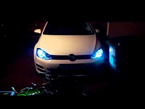 VW Golf 7 HID Xeons - Non-Xeons purchase option