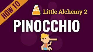 How to make PINOĊCHIO in Little Alchemy 2