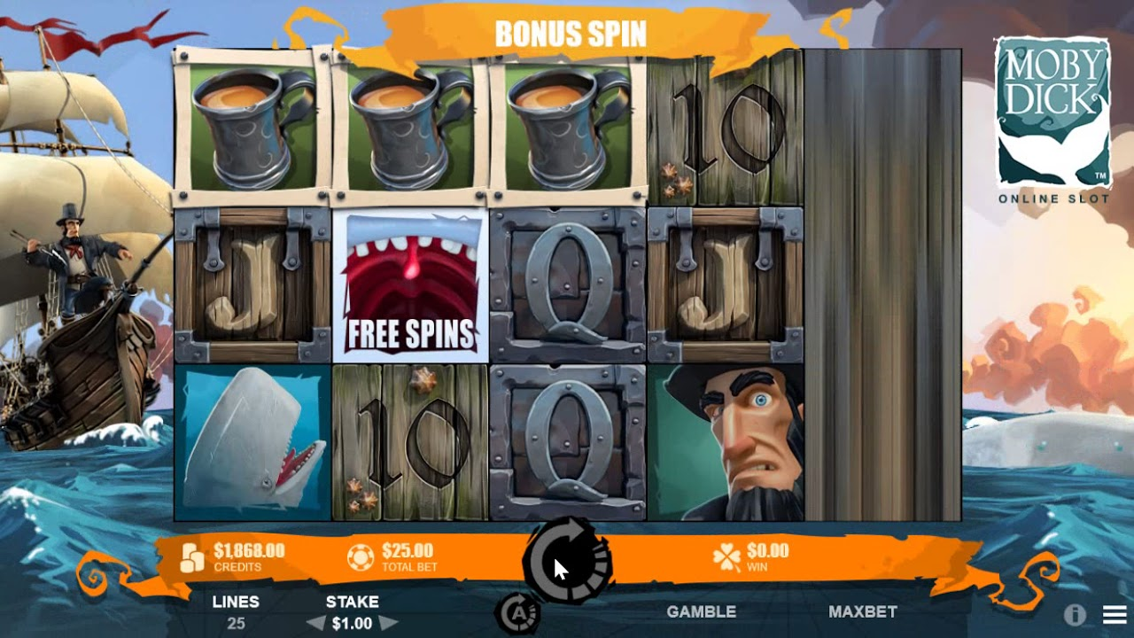 Microgamings Moby Dick Slot has Been Announced