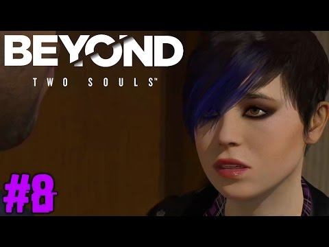 BEYOND TWO SOULS : Lets Play #7 [FACECAM] - JODIE ALS PUNK ??