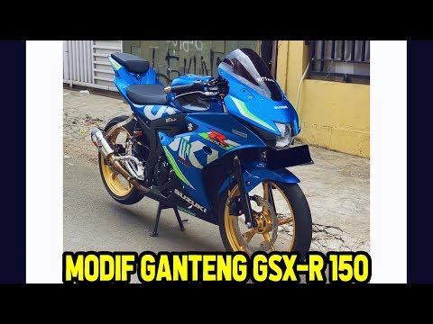 Modifikasi SUZUKI GSX R 150 (Velg,Master Rem, Knalpot, Rantai)