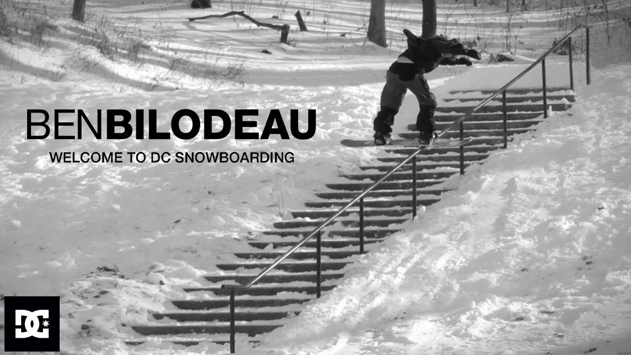 DC SHOES : BEN BILODEAU WELCOME TO DC