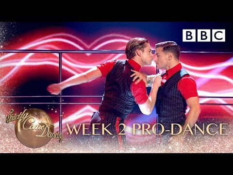The Strictly pro-dancers perform a routine to Imagine Dragons: Believer  - BBC Strictly 2018