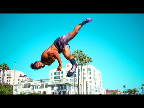 Insane Tricking Kicks Capoeira and Taekwondo@TKD Action