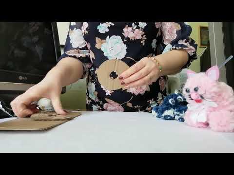 Урок з трудового навчання,5 клас(дистанційне навчання). Технологія виготовлення іграшок з помпонів.