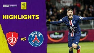 Brest 1-2 PSG | Ligue 1 19/20 Match Highlights