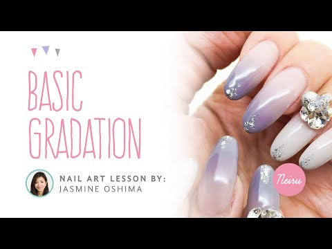 Basic Gradation (Ombre) Nail Art Tutorial by WWW.NEIRU.ME