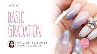 Basic Gradation (Ombre) Nail Art Tutorial by WWW.NEIRU.ME