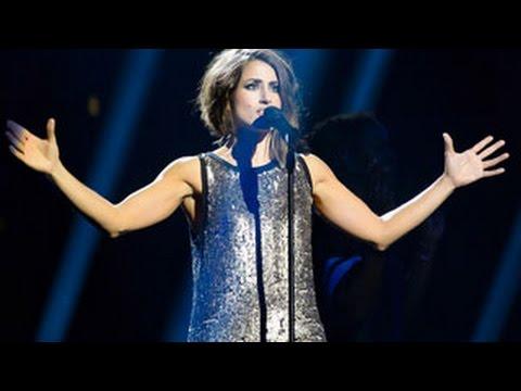 Eurovisión 2016.   Primer ensayo de Barei en el Globe Arena