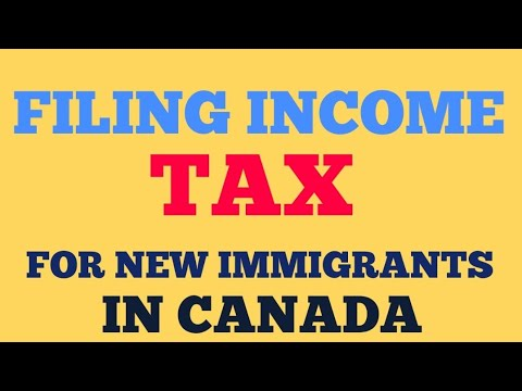We Filed INCOME TAX For FREE In Canada || New Immigrants In CANADA