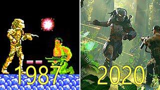 Evolution of The Predator Games 1987-2020
