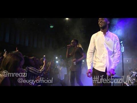 69 with Mr Eazi ft Eugy, London UK Tour (Part 3)