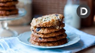 Chocolate Chip Oat And Raisin Cookies