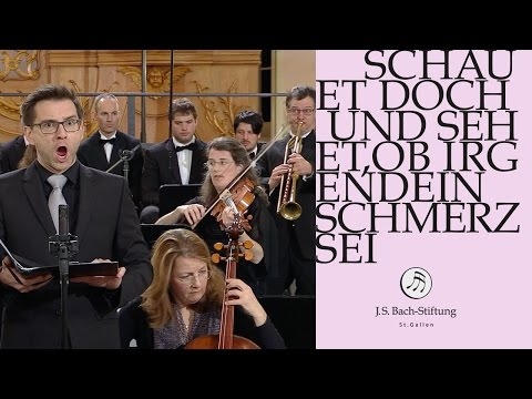 J.S. Bach - Cantata BWV 46 - Schauet doch und sehet -  3 Aria (J. S. Bach Foundation)
