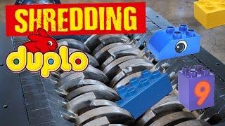 Shredding Lego Duplo - Shredding Stuff #23