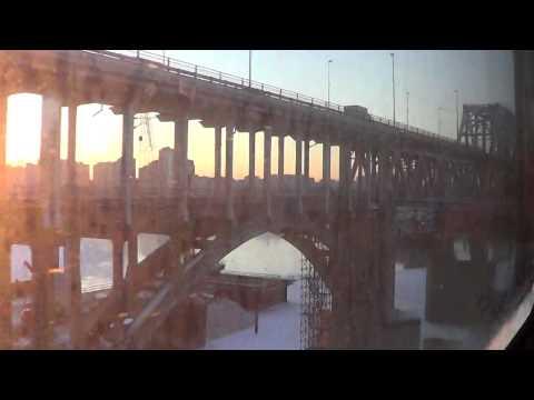 Вид из электрички Семенов - Нижний Новгород для Globalwave  - Глобальная Волна