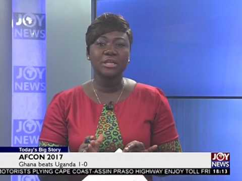 Ghana beats Uganda - Today's Big Story on Joy News (17-1-17)