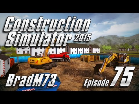 Construction Simulator 2015 GOLD EDITION - Episode 75 - Starting the Mansion with Pond!!