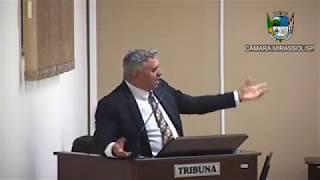 10ª Sessão Ordinária - Vereador e presidente Marcão Alves