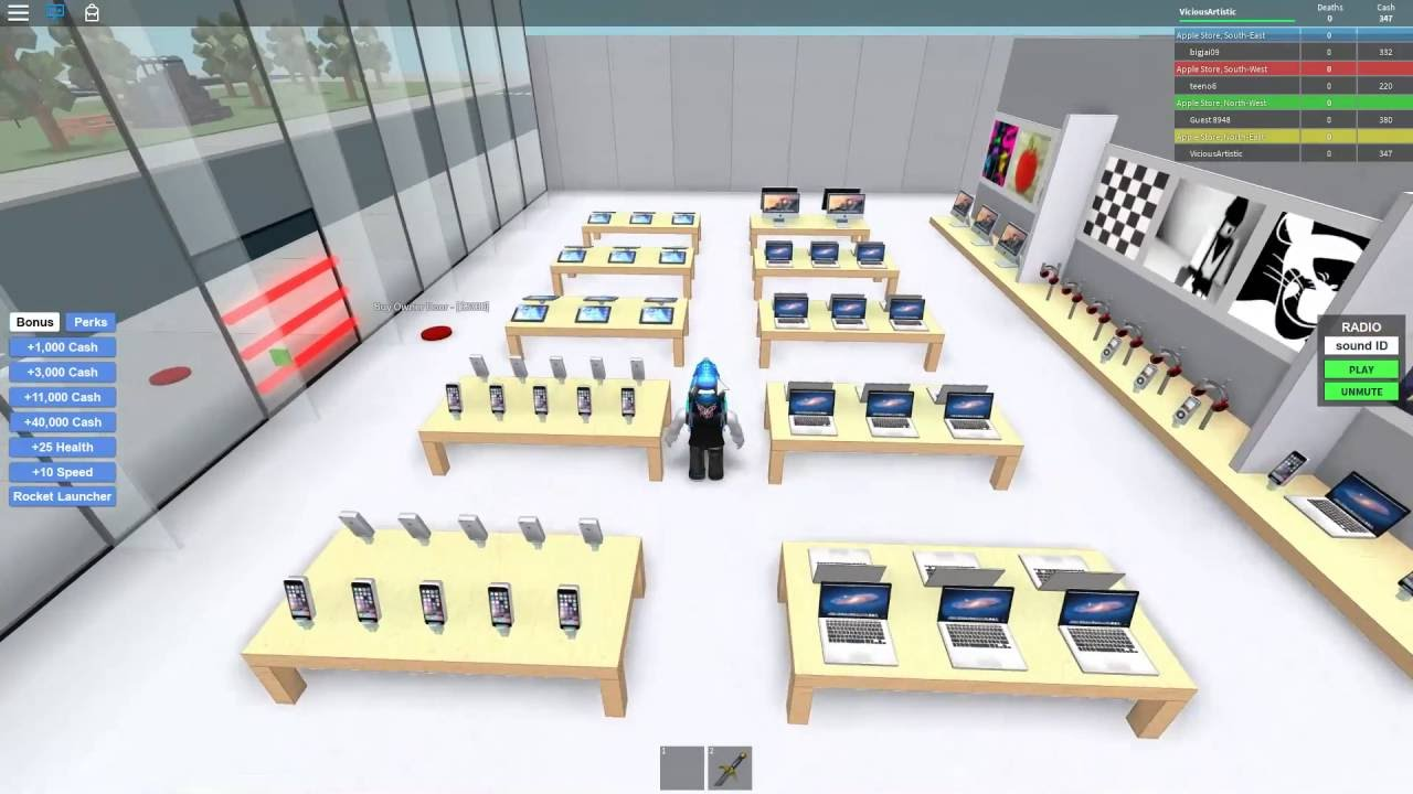 Roblox Apple Store Tycoon First Impression Gameplay Youtube