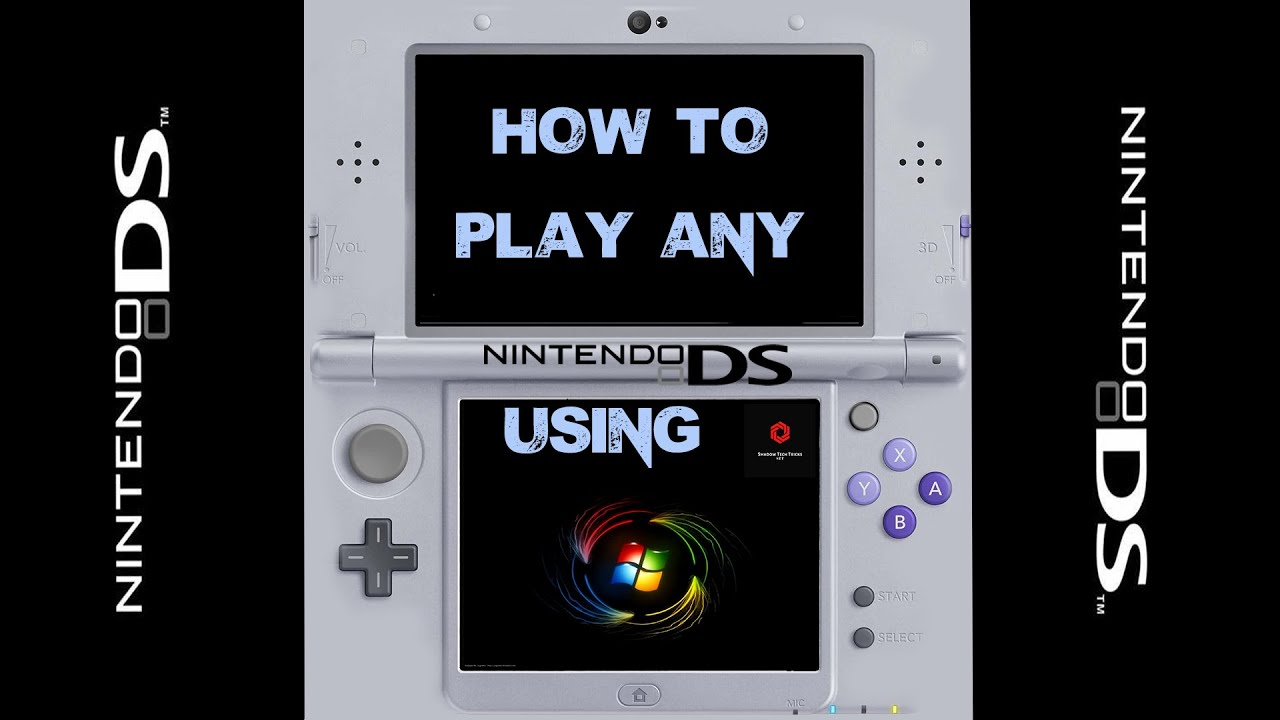 Nintendo DS Emulator on PC [ Desmume Emulator Tutorial ] Play Any NDS Games