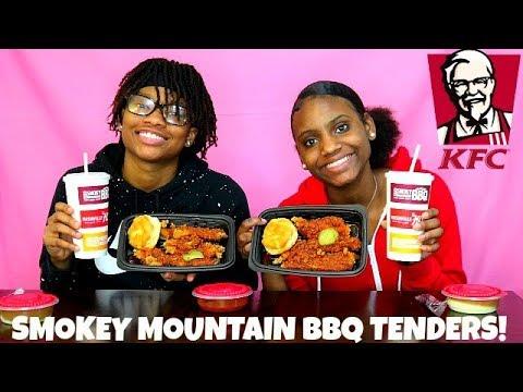 KFC NEW SMOKEY MOUNTAIN BBQ TENDERS! TASTE TEST/REVIEW!