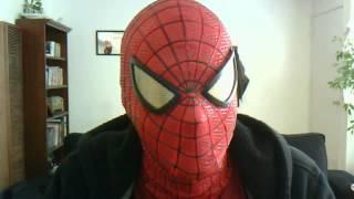 mclean s replica amazing spiderman mask vesion 1
