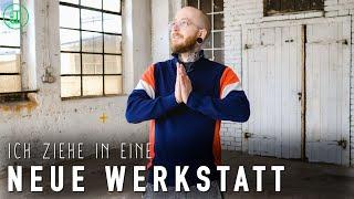 DAS ist meine NEUE WERKSTATT!   Sneak Peek Werkstatttour #1 2020   Jonas Winkler