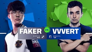 [08.12.2017] KR Faker vs BR VVvert [Solo 1v1][All-Star 2017]